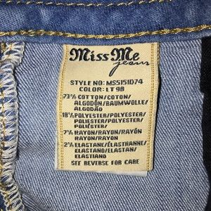 Miss Me Shorts - 🎈Sale🎈All Clothing is $15 or less.
